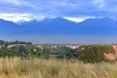 Paesaggio di estate, Burunday, Almaty, il Kazakistan Immagine Stock Libera da Diritti