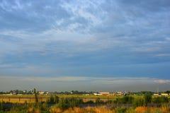 Paesaggio di estate, Burunday, Almaty, il Kazakistan Fotografia Stock Libera da Diritti