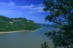 Paesaggio di estate del lago Lianhua Fotografie Stock Libere da Diritti