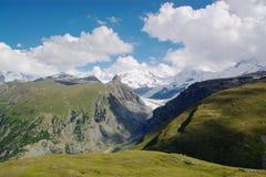 Paesaggio di estate della montagna Immagini Stock Libere da Diritti