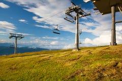 Paesaggio di estate in Gerlitzen Apls, Austria Fotografia Stock Libera da Diritti
