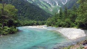 Paesaggio di estate nel Giappone video d archivio