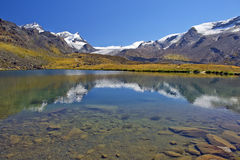 Paesaggio di estate nelle alpi svizzere Immagine Stock Libera da Diritti