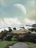 Paesaggio di fantasia Fotografie Stock Libere da Diritti