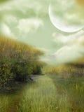 Paesaggio di fantasia illustrazione vettoriale