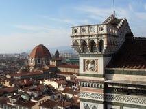 Paesaggio di Firenze Fotografia Stock