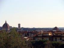 Paesaggio di Firenze Fotografie Stock Libere da Diritti