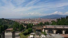 Paesaggio di Firenze fotografie stock