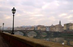 Paesaggio di Firenze, Italia Fotografia Stock