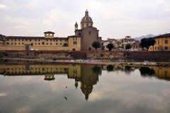 Paesaggio di Firenze, Italia Immagine Stock Libera da Diritti