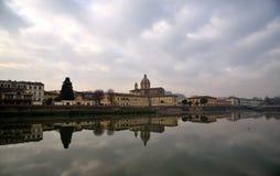 Paesaggio di Firenze, Italia Fotografie Stock