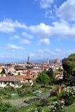 Paesaggio di Firenze Itay Fotografie Stock Libere da Diritti