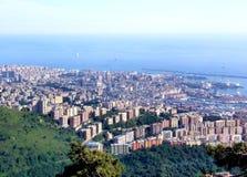 Paesaggio di Genova Fotografie Stock Libere da Diritti