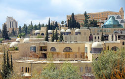 Paesaggio di Gerusalemme Immagini Stock Libere da Diritti