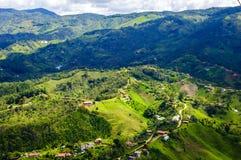 Paesaggio di Guatape, Colombia Immagini Stock Libere da Diritti