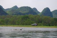 Paesaggio di Guilin Immagine Stock
