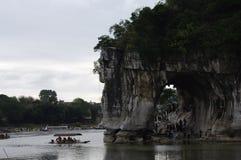 Paesaggio di Guilin Cina fotografia stock libera da diritti
