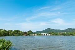 Paesaggio di Hangzhou immagine stock