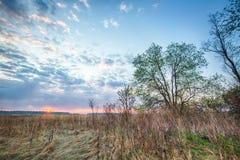 Paesaggio di HDR di alba Immagine Stock Libera da Diritti
