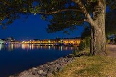 Paesaggio di Helsinki Immagine Stock