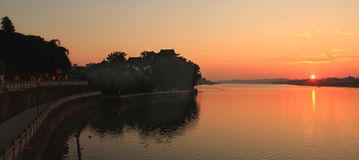 Paesaggio di Hengyang Shek Kwu Park immagine stock