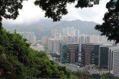 Paesaggio di Hong Kong Fotografia Stock