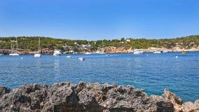 Paesaggio di Ibiza Immagine Stock