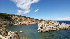 Paesaggio di Illa Matteua Fotografia Stock