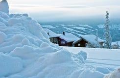 Paesaggio di inverno immagini stock