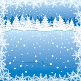 Paesaggio di inverno Fotografia Stock Libera da Diritti
