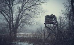 Paesaggio di inverno, Fotografie Stock