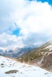 Paesaggio di inverno a Boi Taull Immagine Stock Libera da Diritti