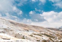 Paesaggio di inverno a Boi Taull Immagini Stock