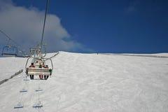 Paesaggio di inverno dall'Austria Fotografia Stock Libera da Diritti