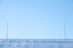 Paesaggio di inverno di Minimalistic fotografia stock
