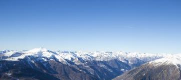 Paesaggio di inverno, Francia Fotografia Stock