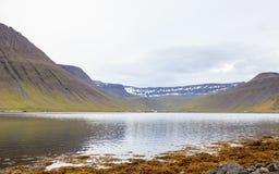 Paesaggio di Isafjordur Fotografia Stock