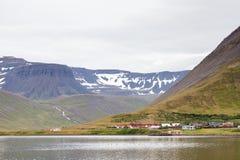 Paesaggio di Isafjordur Immagini Stock Libere da Diritti