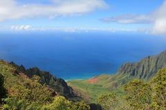 Paesaggio di Kauai Fotografie Stock