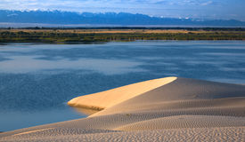 Paesaggio di Kazakhstan Immagine Stock
