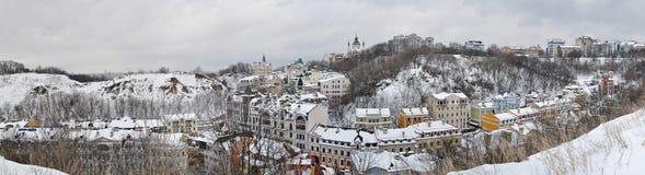 Paesaggio di Kyiv Fotografie Stock Libere da Diritti