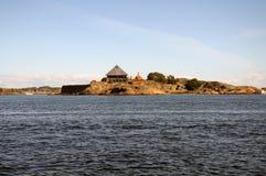 Paesaggio di Larvik Immagine Stock