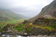 Paesaggio di Lingua gallese Fotografia Stock