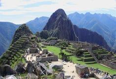 Paesaggio di Machu Picchu Immagine Stock