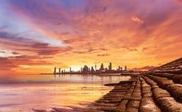 Paesaggio di Madinat al-Kuwait immagine stock libera da diritti