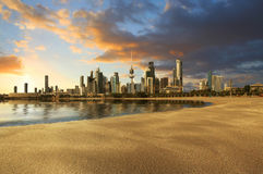 Paesaggio di Madinat al-Kuwait fotografia stock
