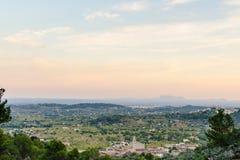 Paesaggio di Mallorcan Fotografia Stock