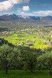 Paesaggio di Maramures Fotografie Stock