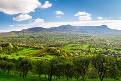 Paesaggio di Maramures Fotografie Stock Libere da Diritti