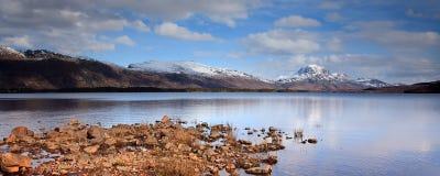 Paesaggio di Maree del Loch Immagini Stock Libere da Diritti